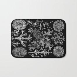 Lichens(Lichenes) by Ernst Haeckel Bath Mat