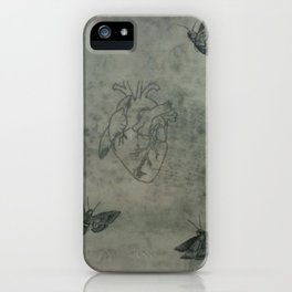 This Is The Actual Size Of My Heart iPhone Case