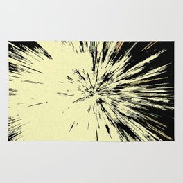Abstract Explosion Rug