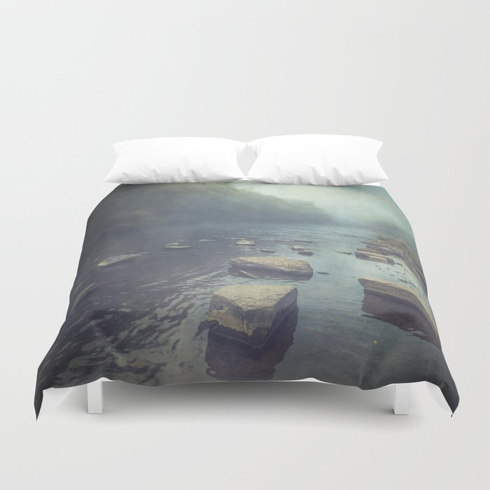 water and stone new version Duvet Cover