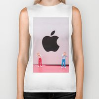 mac Biker Tanks featuring Hungry Mac by Encolhi as Pessoas