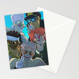 STARDUST CRUSADERS Stationery Cards