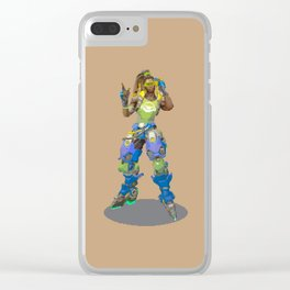 Pixel Lucio Clear iPhone Case