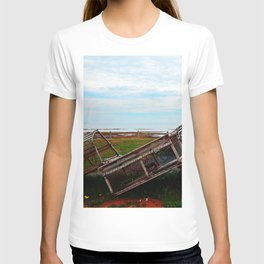 Lobster Traps and the Sea T-shirt