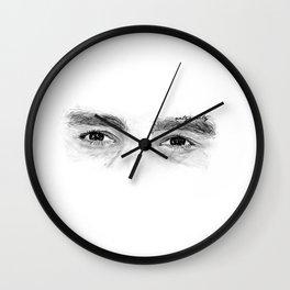 Deep Eyes Wall Clock