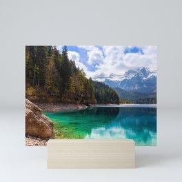 Tovel Lake Mini Art Print