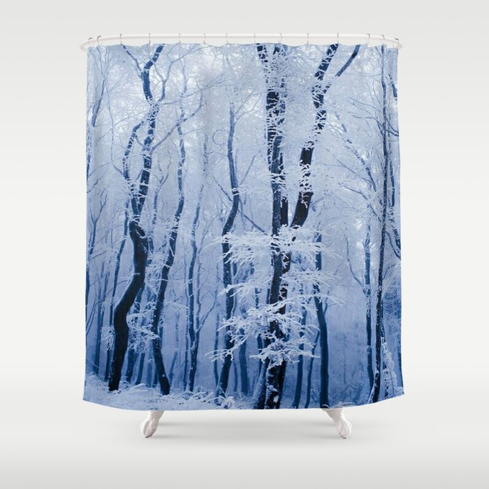 WINTER SCENE 3118 3 Shower Curtain