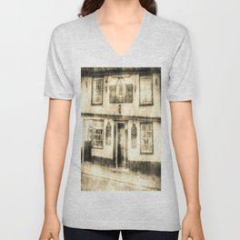 The Coopers Arms Pub Rochester Vintage Unisex V-Neck