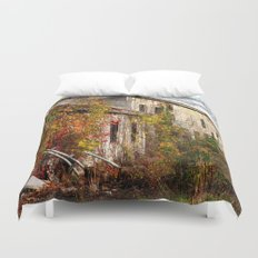 Somewhere in Rhode Island - Abandoned Mill 001  Duvet Cover