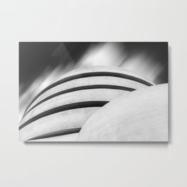 Guggenheim Museum in New York City Metal Print