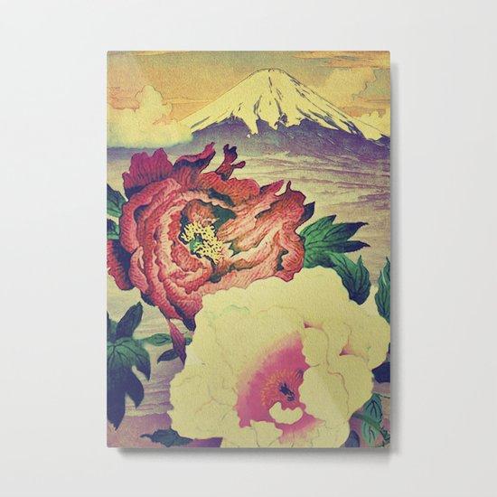 Flowering at Hamata Metal Print