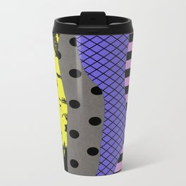 Pick A Pattern - Abstract, Textured, Stripes, Polka Dot, Grid, Paint Splatter Travel Mug