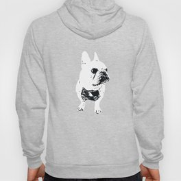 George the cutest French Bulldog Hoody
