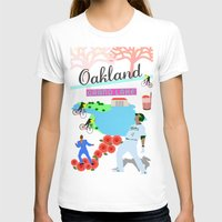oakland T-shirts featuring Oakland by June Chang Studio