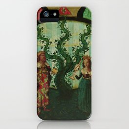 The Beanstalk of Life iPhone Case