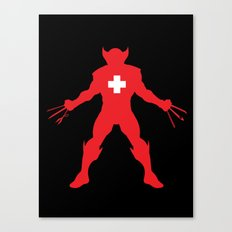 Weapon-Swiss Canvas Print