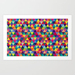Geometric Pattern #6 Art Print