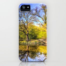 The Tranquil Pond iPhone Case