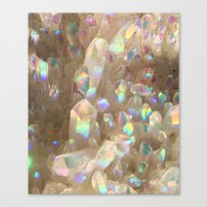Unicorn Horn Aura Crystals Canvas Print