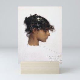 John Singer Sargent - Rosina Ferrara, Head of a Capri Girl Mini Art Print
