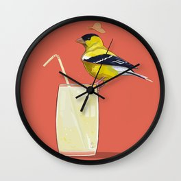 Limonada Americana Wall Clock