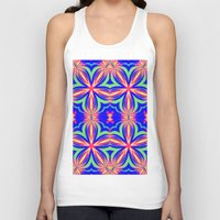 psychedelic art Tank Tops featuring Psychedelic  by 2sweet4words Designs