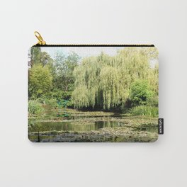 Willow Tree in Monet's Garden  Carry-All Pouch