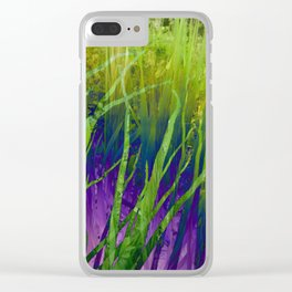 Asleep in the Kush Clear iPhone Case