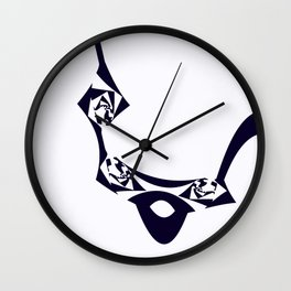 Elastic Surreality Wall Clock