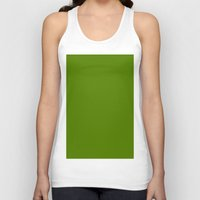 avocado Tank Tops featuring Avocado by List of colors