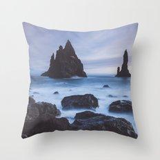 Reynisfjara Throw Pillow