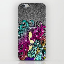 Rainbow Mermaid iPhone Skin