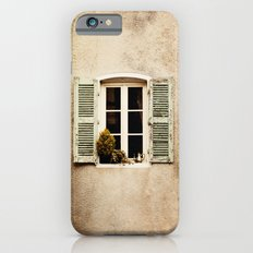 Window with Shutters and Teapot iPhone 6s Slim Case
