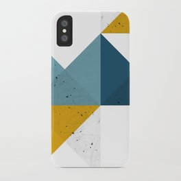 Modern Geometric 19 iPhone Case