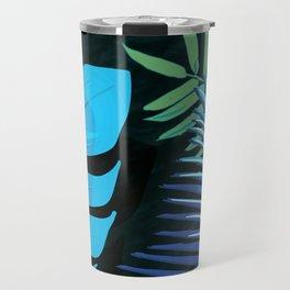 TROTROPICAL LEAVES & BLACK no3cPICAL LEAVES & BLACK no3c1 Travel Mug