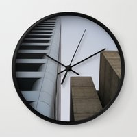 oakland Wall Clocks featuring oakland by jared smith