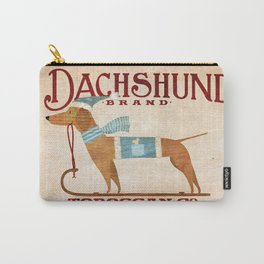Dachshund Toboggan Co Carry-All Pouch