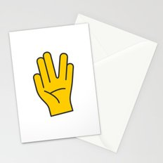 Hand Gesture - Live Long And Prosper Stationery Cards