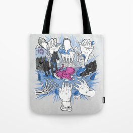 Foul Fingers Tote Bag