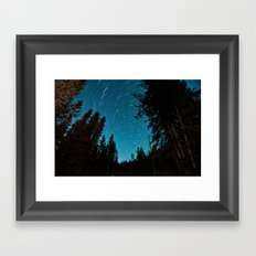 Aim for the Stars Framed Art Print