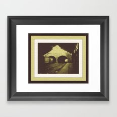 Outbound Freight Framed Art Print