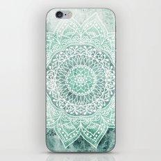 DEEP MINT MANDALA iPhone & iPod Skin