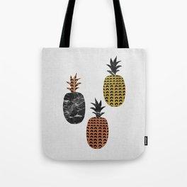 Pineapples Art Print Tote Bag