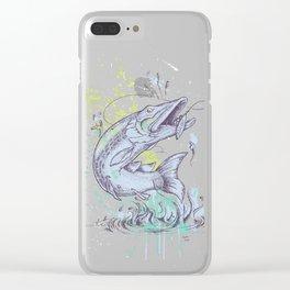 Pike Dream Clear iPhone Case