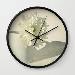 Chrysanthemum Shadow. Wall Clock