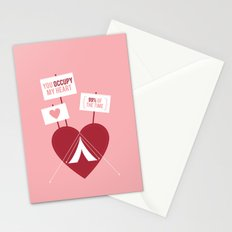 Occupy My Heart Stationery Cards