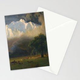 Albert Bierstadt - Mount Adams, Washington (1875) Stationery Cards