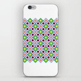 Klassik Muster   (A7 B0009) iPhone Skin