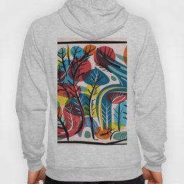 Dreamy Landscape illustration Hoody