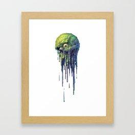 Slime Ball Framed Art Print